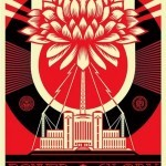 "Shepard Fairey ""Green Power"" Limited Edition Screen Print"