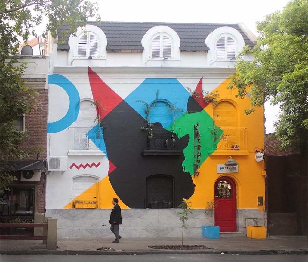 "Elian ""Heavy Distribution"" New Mural – Cordoba, Argentina"