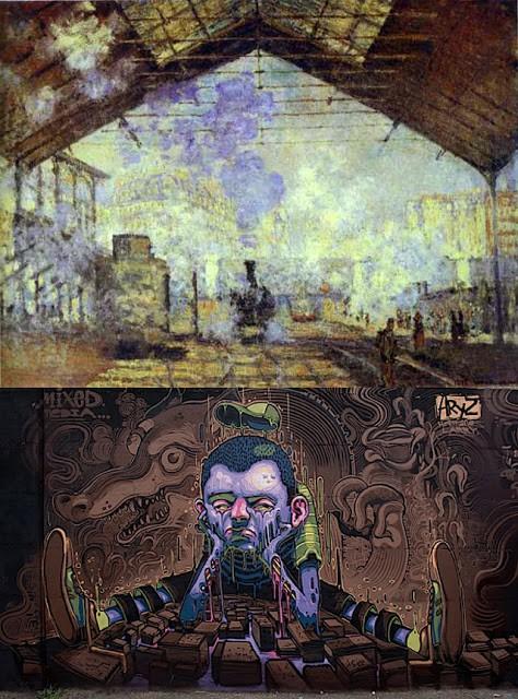 Impressionism & Graffiti With a Common Denominator?