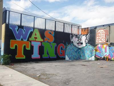 Ben Eine & Anthony Lister New Murals In Miami