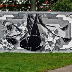 "Dome ""Rise And Shine"" New Mural – Ulm, Germany"