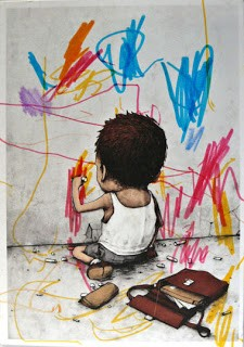 Dran 'I Have Chalks' Drawing Competition Winner