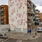 Escif paints an interesting new mural in Madrid