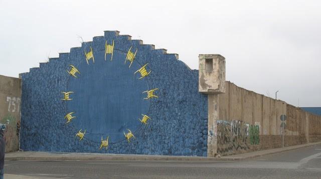 Blu New Mural In Melilla, Spain
