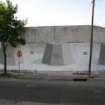 """Escif """"Inflar El Peso De Un Peso"""" New Mural In Buenos Aires, Argentina"""