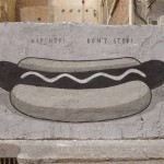 "Escif ""Fast Food Is Not A Crime"" New Street Pieces – Valencia, Spain"