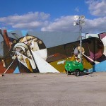 Augustine Kofie, Remi Rough, Neuzz New Murals In Progress, Miami