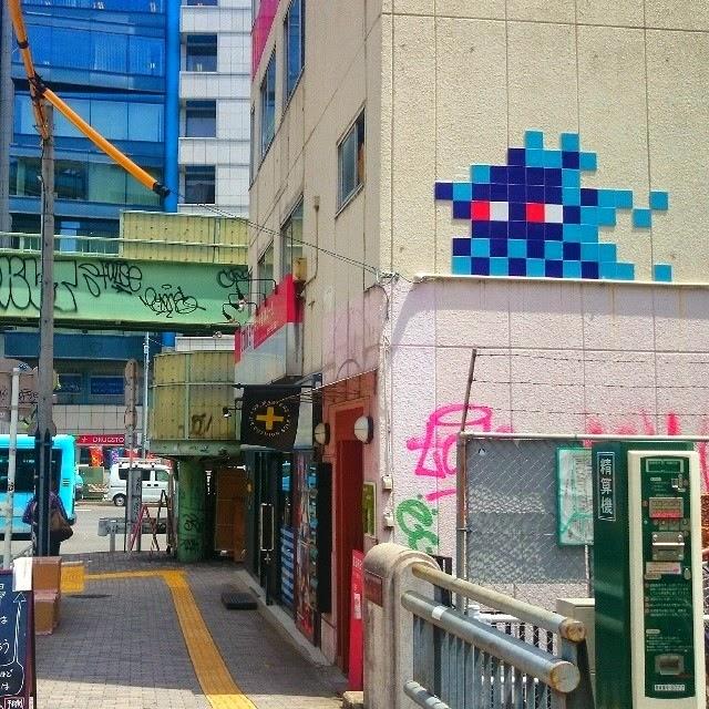 Invader New Invasions – Tokyo, Japan (Part I)