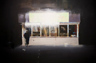 Brett Amory at Lazarides Solo Show 'Intentional Abstractions' 13th January