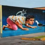JADE x Evoca1 New Mural – Lima, Peru