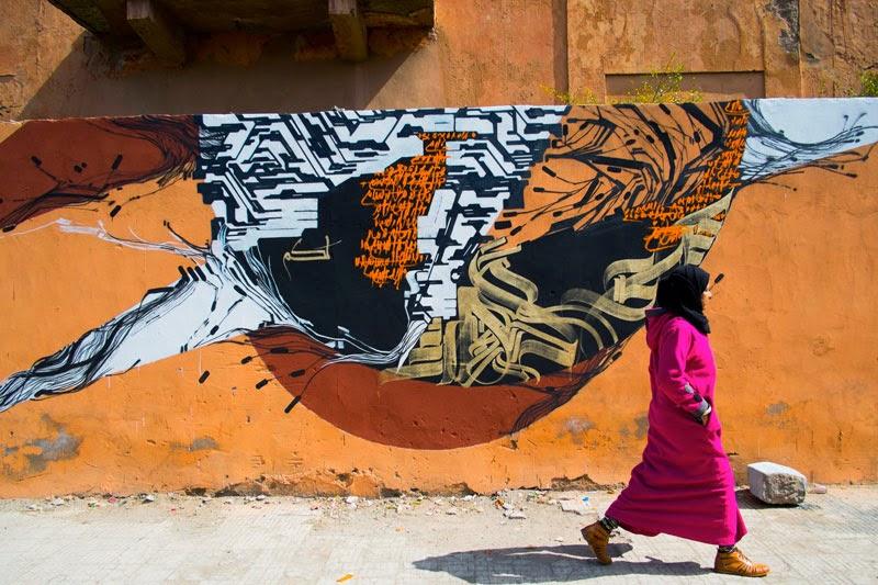 Sowat x Lek x Liard Larbi Cherkaoui x Nour Eddine Tilsaghani New Collaboration – Marrakech, Morocco