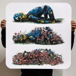 "Pixel Pancho ""Decomposition"" Limited Edition Screen Print"