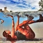 Fintan Magee New Street Art Mural – Sydney, Australia