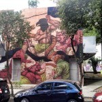 JAZ paints a new mural in Mexico DF for ManifestoMX