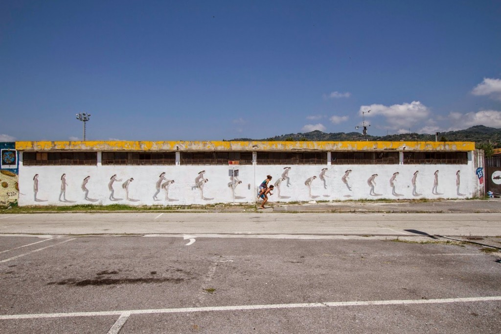 Hyuro New Mural For Oltre Il Muro Festival – Sapri, Italy