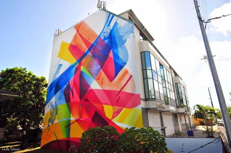 MadC New Mural – Papeete, Tahiti