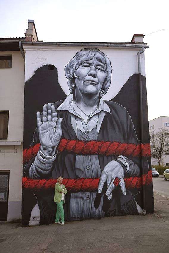 "MTO ""Ms Reet"" New Mural – Tartu, Estonia"