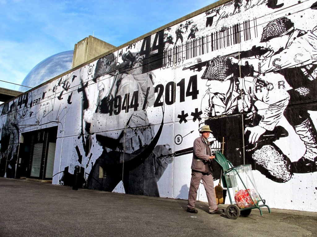 WK Interact New Mural – Paris, France