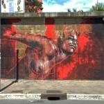 Guy Denning New Mural For Avanguardie Urbane – Rome, Italy