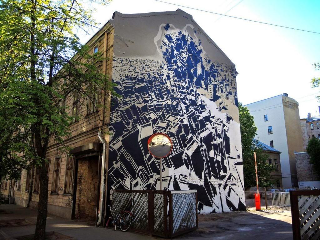 M-City New Murals – Riga, Latvia