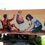 "Fintan Magee ""The Workshop"" New Mural – Culver City, Los Angeles"