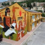 Agostino Iacurci New Mural in Arce, Italy