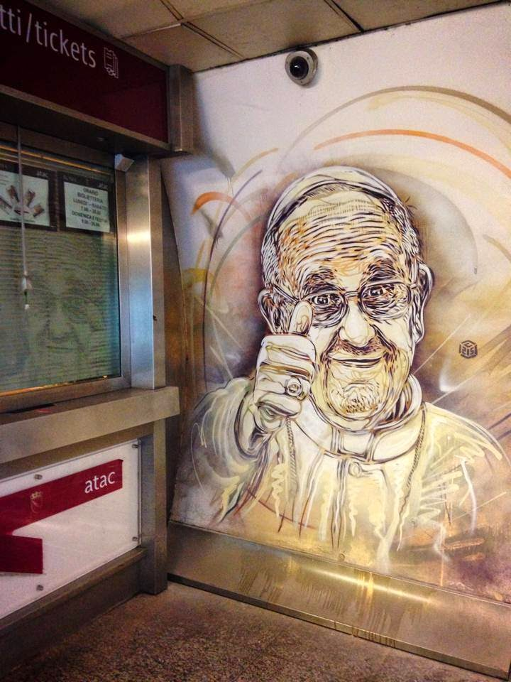 C215 New Pieces For Urban Legends - Rome, Italy | StreetArtNews