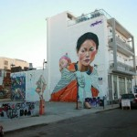 """Paparazzi unveils """"You Are Not Alone"""", a tribute mural to Nepal in Limassol, Cyprus"""
