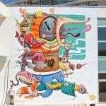 "Dulk ""Bipolar"" New Mural – Valencia, Spain"