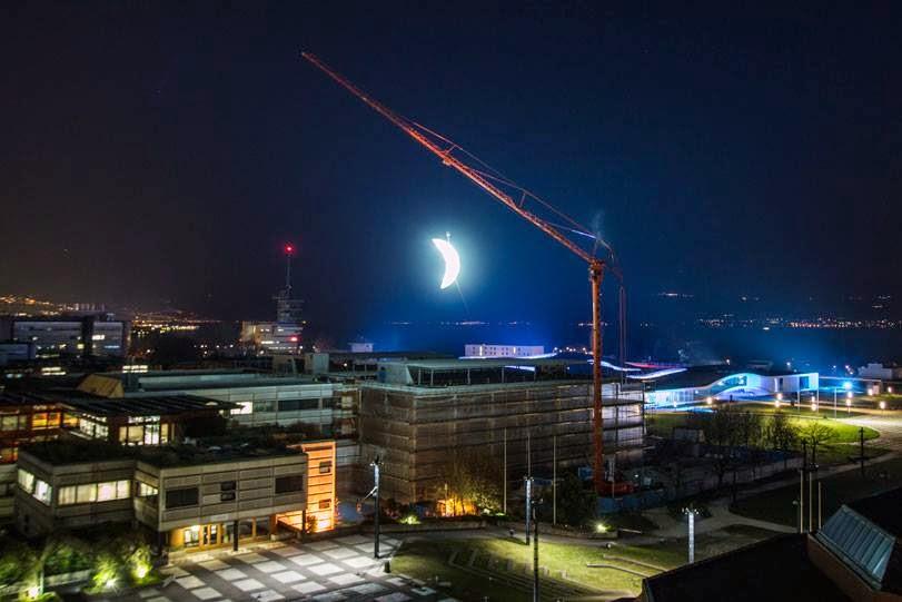 "SpY ""Moon"" New Installation – Lausanne, Switzerland"