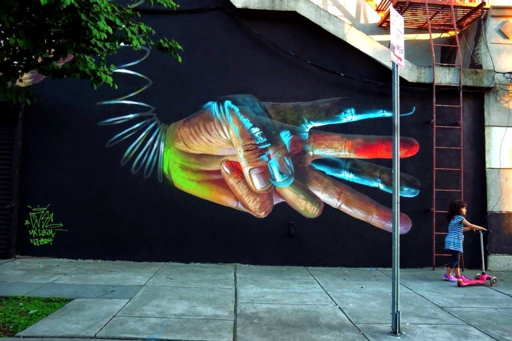 Case Ma'Claim New Mural – Jersey City, USA