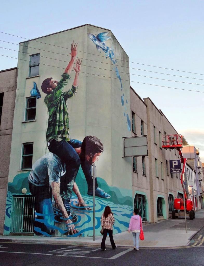 Fintan Magee New Mural – Limerick, Ireland