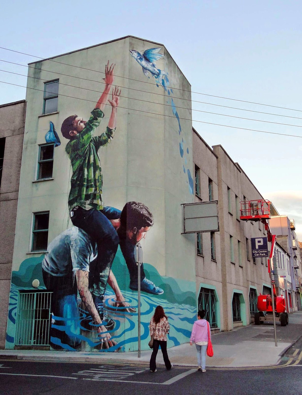 Fintan magee new mural limerick ireland streetartnews for 3d street painting mural art