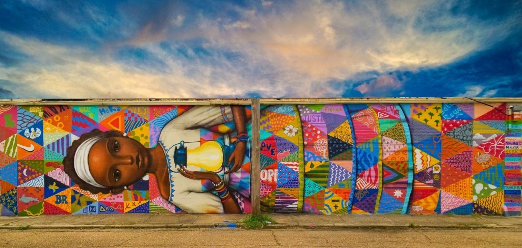 Seth GlobePainter New Pieces – Baton Rouge, Louisiana