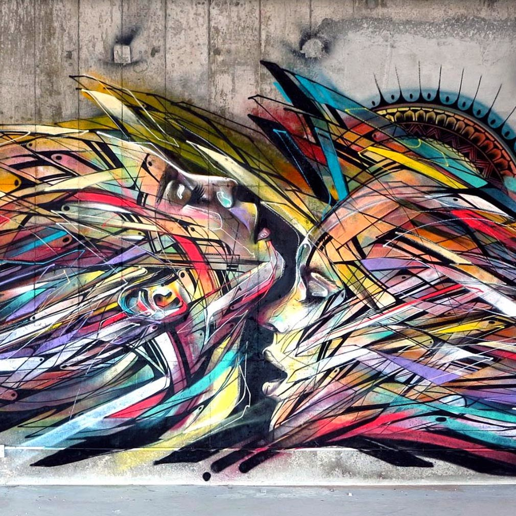 Hopare New Mural – Hong-Kong, China