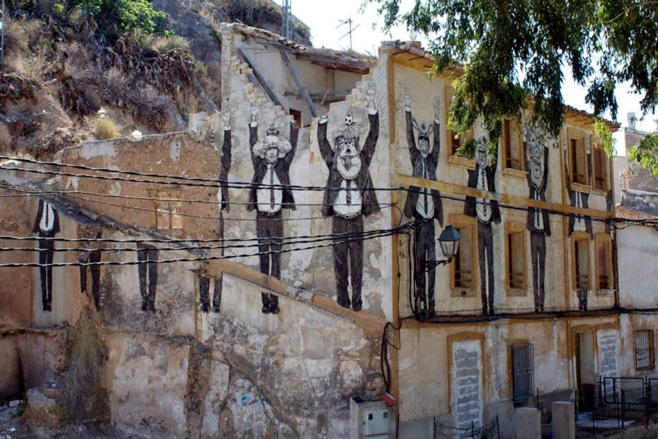 Daniel Munoz SAN New Mural – Blanca, Spain
