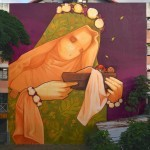 "INTI ""La Virgen Made In France"" New Mural – Papeete, Tahiti"