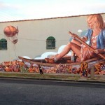 "Fintan Magee ""The Zeppelin"" New Mural – Culver City, Los Angeles"