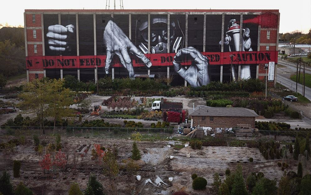 "MTO paints ""My Name Is MO"" in Lexington, Kentucky"