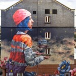 Fintan Magee New Mural – Glasgow, Scotland