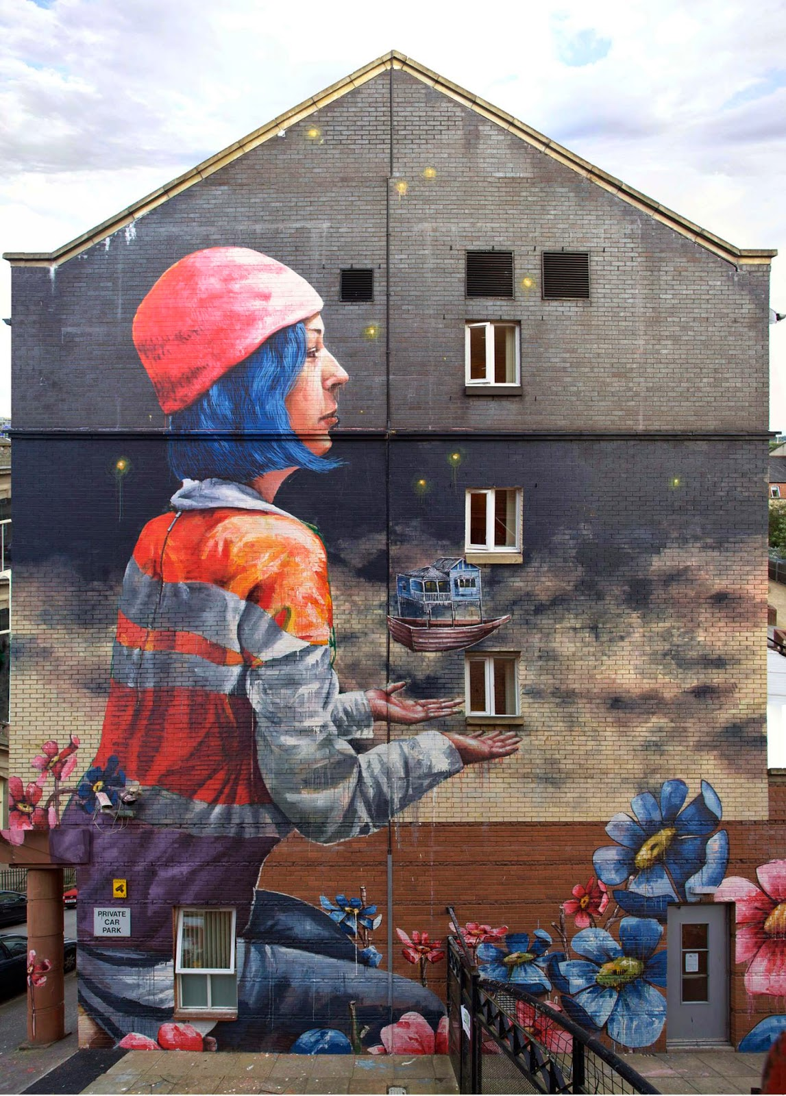 Fintan Magee New Mural Glasgow Scotland Streetartnews