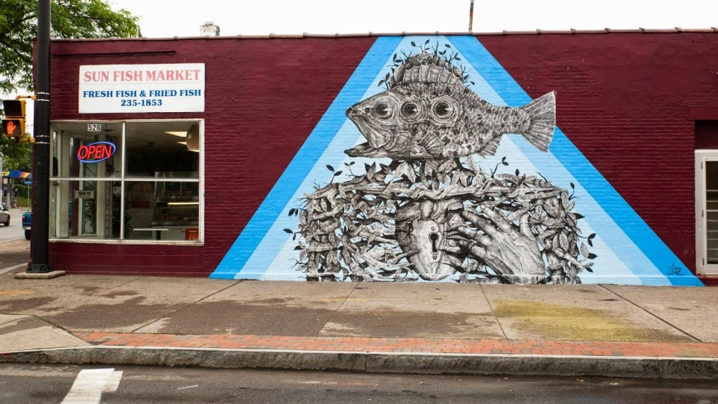 Alexis Diaz New Mural For Wall Therapy – Rochester, USA