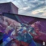 """Nawer x Sepe """"Babilon Fabric"""" New Mural – Krakow, Poland"""