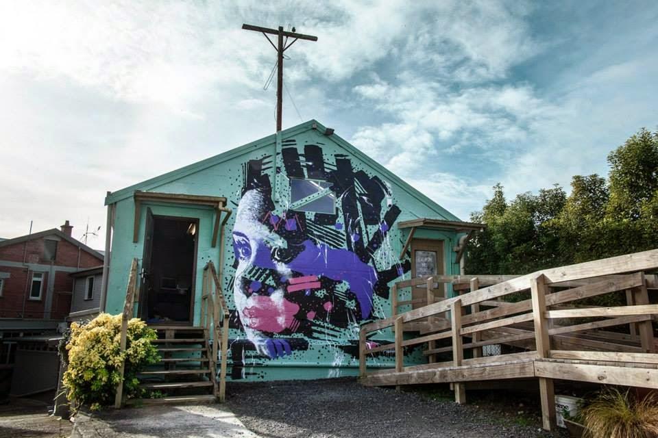 "Askew One ""Opal"" New Mural – Te Awamutu, New Zealand"