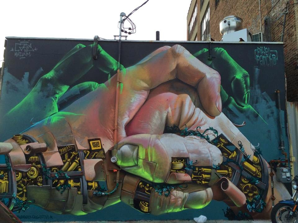 Pixel Pancho x Case Ma'Claim New Mural – New York City, USA
