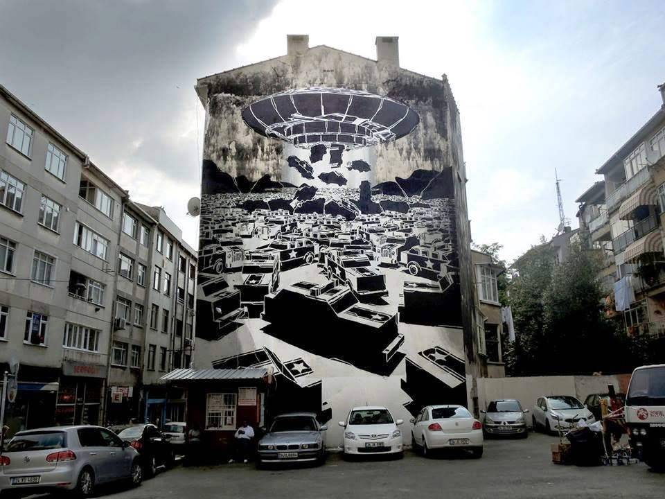 M-City New Mural – Istanbul, Turkey