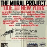 "Preview – The Mural Project ""An Ode to NY"" – Succulent Studios – Brooklyn, NY"