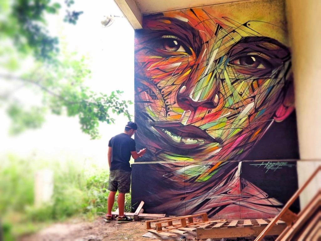 Hopare New Mural – Limours, France