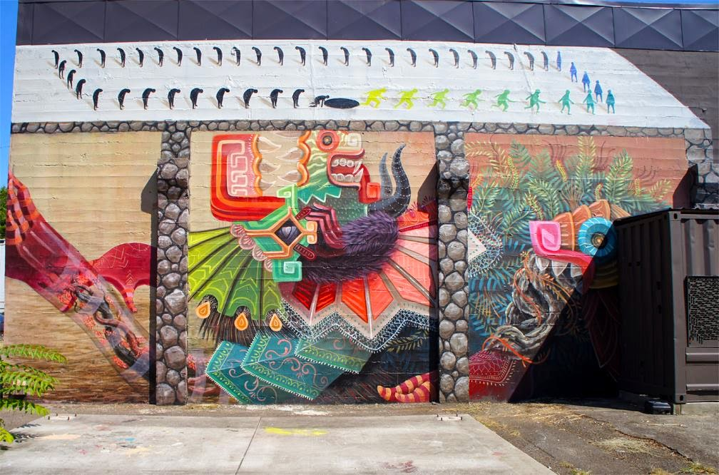 Curiot New Mural – Portland, Oregon