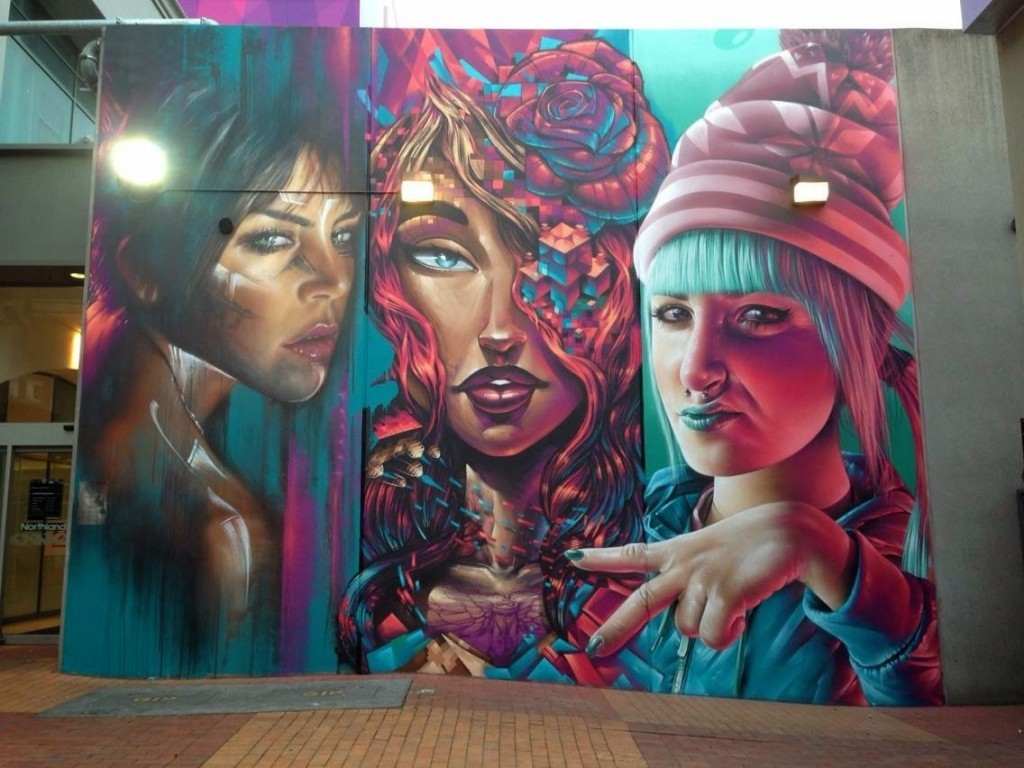 Adnate x Sofles x Smug One New Mural – Melbourne, Australia